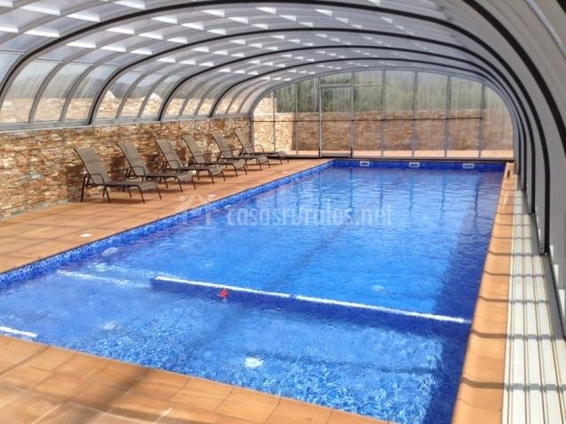 Apartamento mas fita casas rurales en vilanova de la - Casa rural con piscina cubierta ...