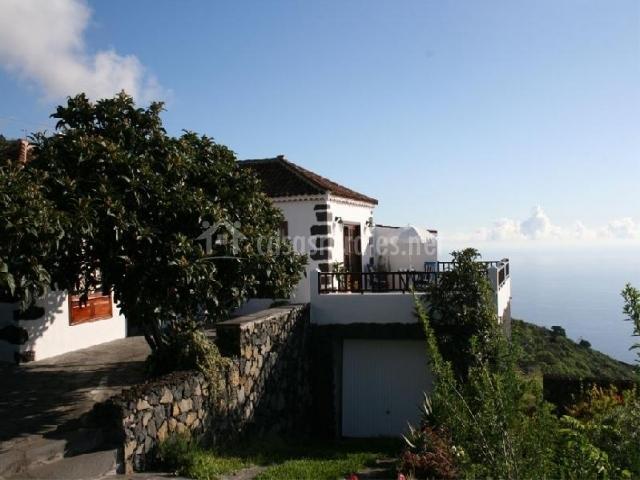 Vista exterior del alojamiento
