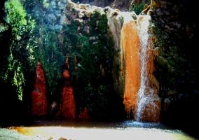 Cascada de los Siete Colores