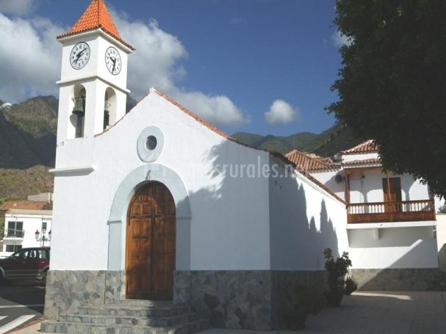Iglesia de la Santísima Trinidad en Igueste