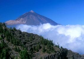 Vista del Teide y alrededores