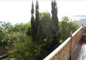 Vistas desde la terraza de arriba