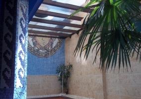 SPA con la piscina decorada