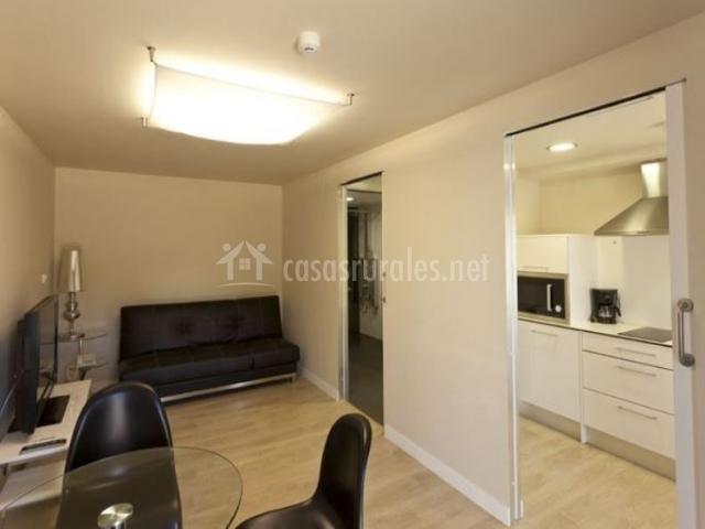 Rural suite hotel apartamentos en cascante navarra - Cristal puerta salon ...
