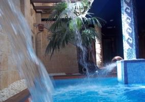 SPA con la piscina