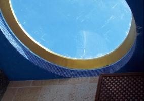 SPA y detalles en el techo