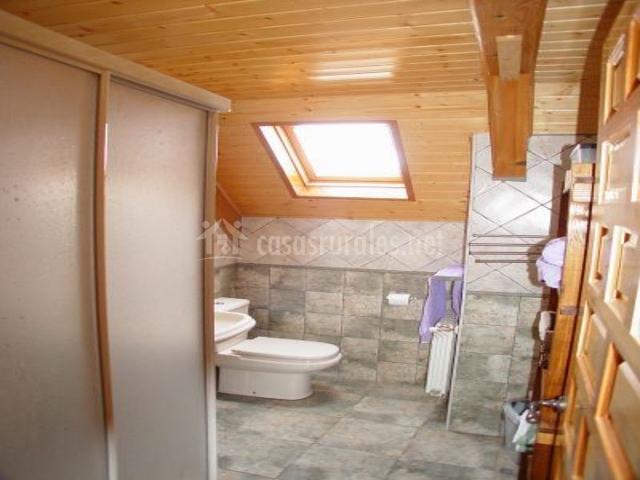 Pardix ii en orbaiceta orbaitzeta navarra - Ver cuartos de bano con plato de ducha ...