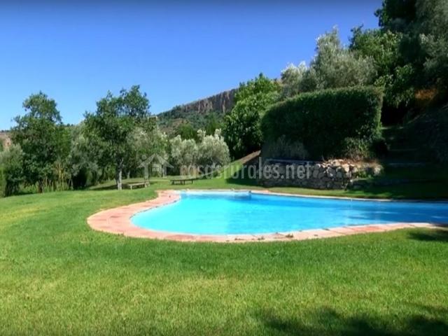 Los molinos del tajo casa iii en ronda m laga - Alojamiento rural con piscina ...
