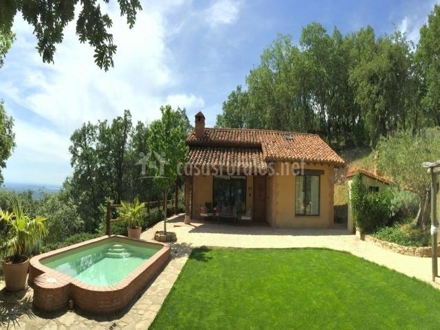 Casa rural avila candeleda los olivos en candeleda vila for Casas rurales alicante con piscina