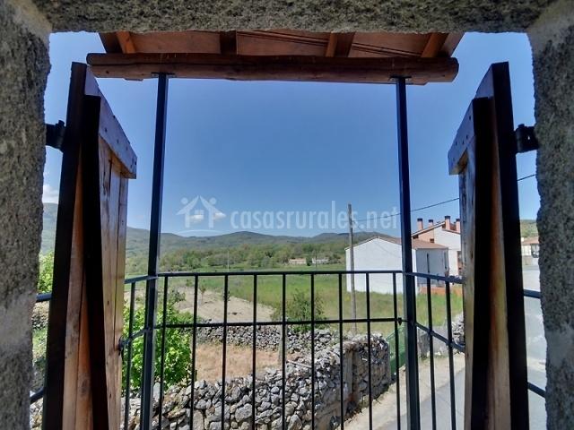 Balconada con vistas