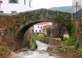 Puente en Aldeanueva del Camino