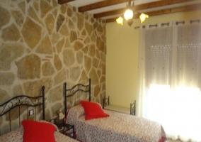 Habitación de dos camas individuales