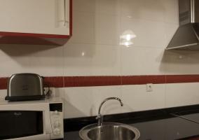 Vitrocerámica en la cocina