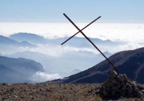 Cumbre de una montaña