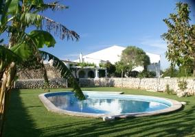 Llucmaçanes Gran. Fachada Norte - Llucmaçanes, Menorca