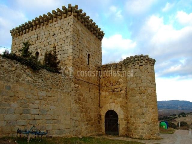 Bonilla de la Sierra, Castillo
