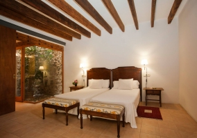 Junior suite con sala de estar