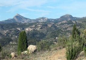 Vistas del macizo Penyagolosa