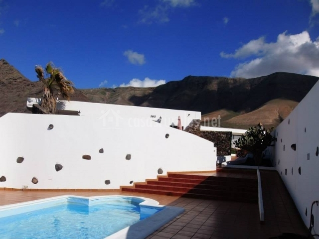 Casa Chicho - Piscina con acceso en rampa