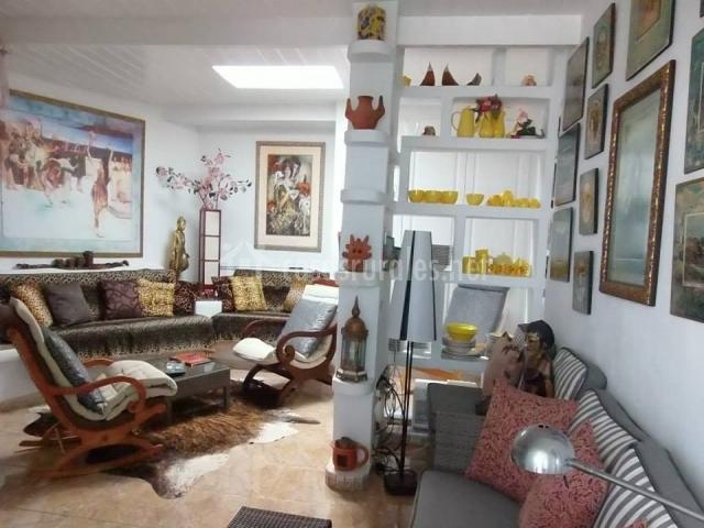 Apartamento Mona Lisa - Salón con sofás