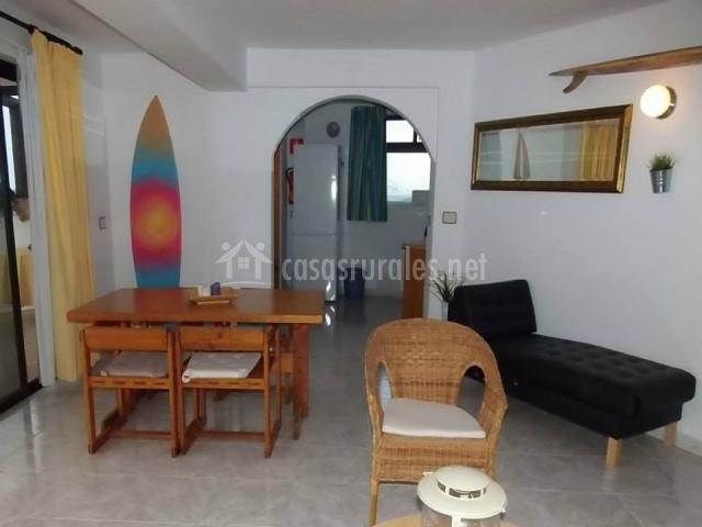 Surf Beach House - Zona comedor