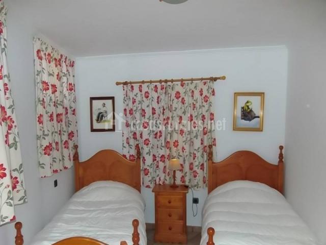 Casa Chicho - Habitación con camas twin
