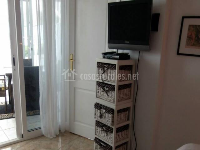 Apartamento Mona Lisa - Televisión en habitación