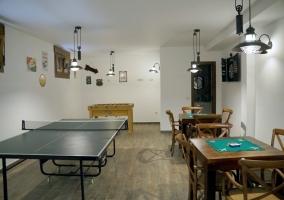 Sala de juegos. Zonas comunes