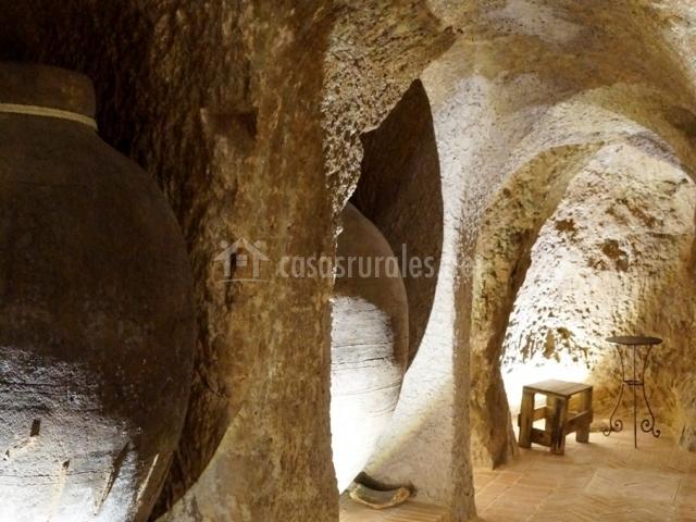 Galerías en forma de cueva