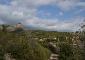 Alrededores de la casa rural catalana
