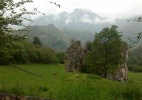 Precioso entorno montañoso