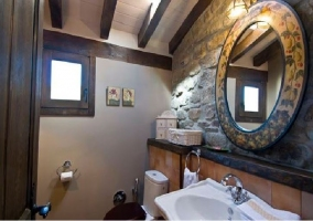 Espejos en el cuarto de baño