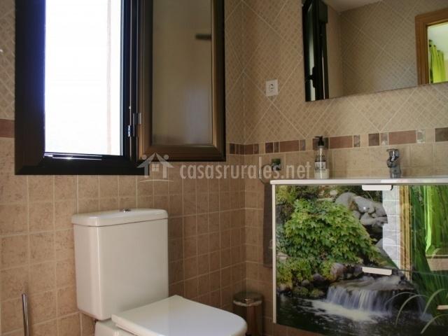 Cuarto de baño dormitorio suite naturaleza
