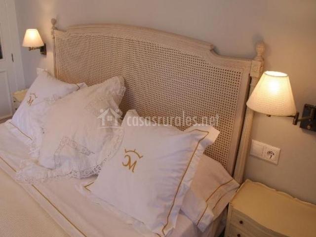 Dormitorio de matrimonio de la casa
