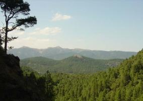 Vistas de la Sierra de Alcaraz