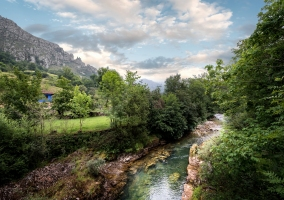 Cerca río sella