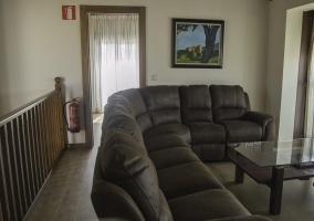Sala de estar del segundo piso