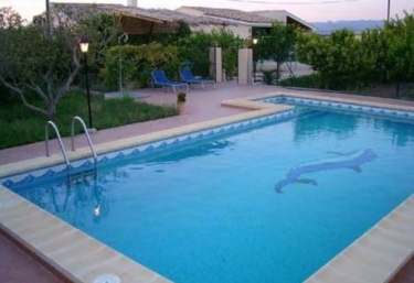 Casas rurales con piscina en pliego for Casas vacacionales con piscina