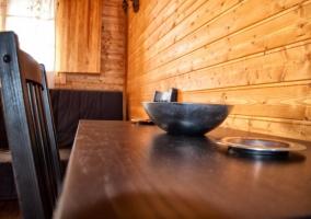 Mesa comedor en madera