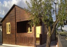 Exterior en madera