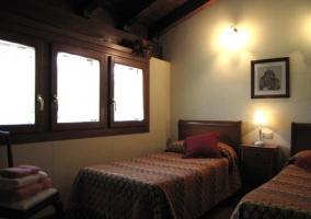 Dormitorio rayas