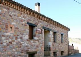 La chimenea de soria i en espeja de san marcelino soria - Casa rural maria antonia ...