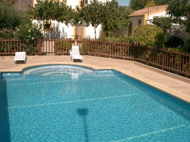 Alojamiento rural la parada en almendricos murcia - Casa rural murcia piscina climatizada ...