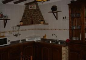 Cocina con campana
