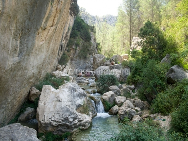 Tramo del río Alharbe