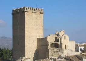 El castillo de Moratalla