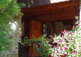 Balcón de una de las habitaciones de la vivienda