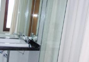 Los baños son modernos