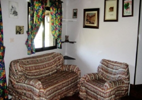 Salón con mueble