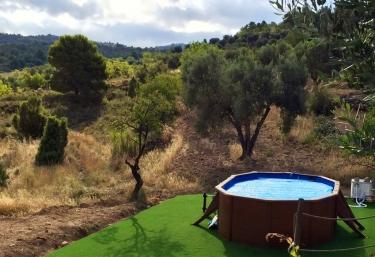 Casas rurales con piscina en teruel for Piscina climatizada teruel